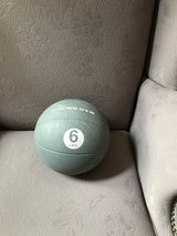 Exercise Fitness Ball - 6 Pounds in Glendale Heights, Illinois