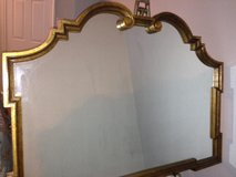 Vintage Labarge, Italian Made, Large Hollywood Regency Gold Mirror in The Woodlands, Texas