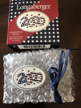 """Longaberger All-American Tie-On - Inaugural """"2000"""" - New in Box in Plainfield, Illinois"""