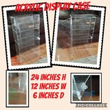 Acrylic Display Case in Orland Park, Illinois