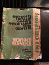 1977 camaro shop manual in Glendale Heights, Illinois