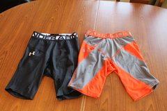 2 Under Armour Compression Shorts in Okinawa, Japan