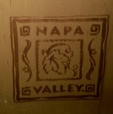Napa Valley (with logo) Wine Rack for 1/2 Bottles Only in Houston, Texas