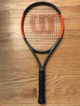 Wilson Burn 25S Junior Tennis Racquet in Westmont, Illinois