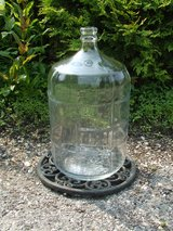Vintage Carboy 5 Gallon Glass Made in Italy Wine Beer Bottle in St. Charles, Illinois