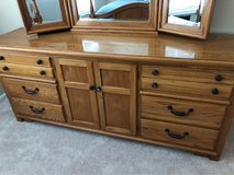 Solid wood dresser in Naperville, Illinois