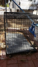 Large Metal Dog Crate/Cage in 29 Palms, California