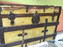 Old chest in Chicago, Illinois