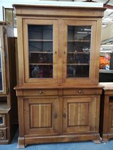 display cabinet with matching tv hifi unit in Lakenheath, UK