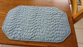 8 Blue Cloth Placemats in Joliet, Illinois