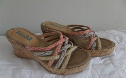 NEW Ladies Size 7 Mudd Sandals/Wedges in Kingwood, Texas