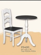 United Furniture - Coffee or Tea for Two including table - two chairs - delivery in all colors in Stuttgart, GE