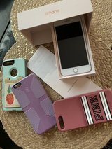 iPhone 7plus 256gb, Like NEW rose gold Sprint in Baytown, Texas