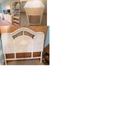 White Wicker Dressers Bedroom Set (7-piece) in Morris, Illinois