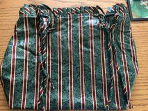 Longaberger Striped Small Gathering Basket Liner in St. Charles, Illinois