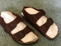 Preowned BIRKENSTOCK Leather Sandals in Fairfield, California