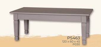 United Furniture - Rectangle Coffee Table - Solid Wood - in all colors in Stuttgart, GE