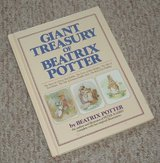 Vintage 1984 Giant Treasury of Beatrix Potter Over Sized Hard Cover Book in Chicago, Illinois