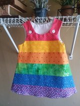 Paneled Rainbow A-line Dress in Fort Benning, Georgia
