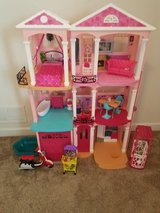 Brabie dreamhouse with all accessories pictured in Morris, Illinois