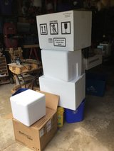Styrofoam coolers in Glendale Heights, Illinois