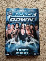 WWE Best of Smackdown DVDs in Camp Lejeune, North Carolina