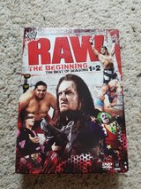 WWE RAW 4 DVDs in Camp Lejeune, North Carolina