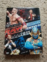 WWE RAW 2011 DVDs in Camp Lejeune, North Carolina