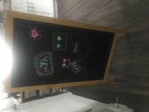 Chalk easel in Clarksville, Tennessee