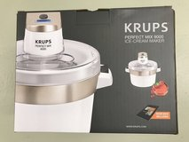 Ice Cream Maker, Krups, Perfect Mix 9000, 200V AC, Used three times in Wiesbaden, GE