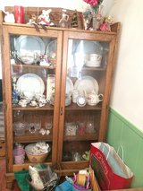 Pie safe or Curio or Display cabinet ~ Historical Humble in The Woodlands, Texas