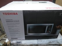 Toshiba stainless-steel microwave in Fort Knox, Kentucky
