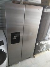 Whirlpool side-by-side stainless steel refrigerator in Fort Knox, Kentucky