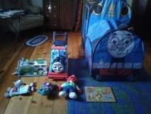 Toys and tent in Plainfield, Illinois