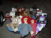 beanie babyies and stuff dolls in Fort Knox, Kentucky