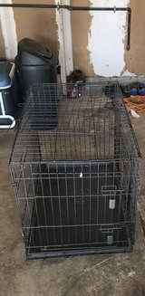 Small Dog Cage w/ Divider in Travis AFB, California