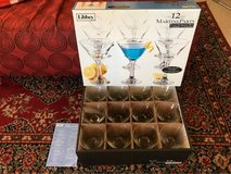 Libbey 12pc Martini glasses - BRAND NEW! in Palatine, Illinois
