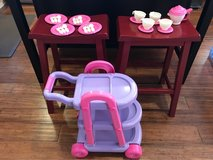 My Very Own 26pc Tea Cart Set by American Plastic Toy in Palatine, Illinois