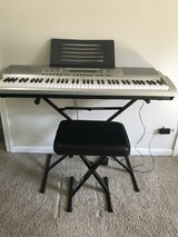 Casio Keyboard 76 Key piano style in Naperville, Illinois