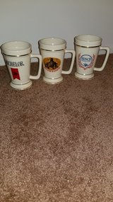 3 Collectible Beer Mugs in Elgin, Illinois