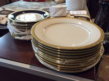Dinner and salad plates in Conroe, Texas