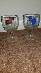 2 Collectible Beer Glasses in Bartlett, Illinois