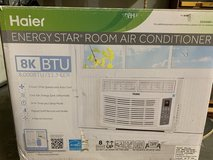 Haier 8K BTU window air conditioner with remote in St. Charles, Illinois