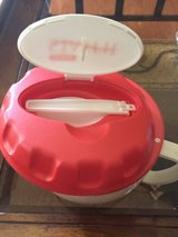 EZ Heat Stay Fit bowl with spoon in lid in Chicago, Illinois
