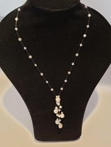 Crystal Bead and Pearl Necklace *Perfect for Bride or Bridesmaid in Bartlett, Illinois