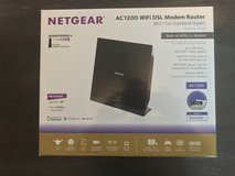 NETGEAR AC1200 WiFi DSL (Non-Cable) Modem Router 802.11ac Dual in Fort Leonard Wood, Missouri