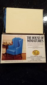 House of Miniatures #40016 Chippendale Wing Chair Kit in Yorkville, Illinois