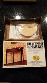 House of Miniatures #40004 Hepplewhite Side Table Kit in Aurora, Illinois