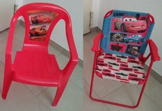 Childs Beach / Patio Chairs Disney Cars Theme * Cleaning out. Lots must go * in Wiesbaden, GE