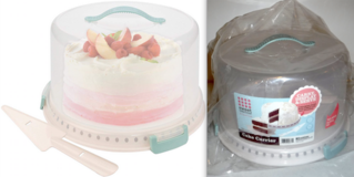 New! Sweet Creations 3pc Cake Carrier Set in Chicago, Illinois